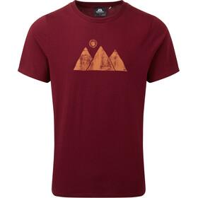 Mountain Equipment Mountain Sun T-shirt Homme, rouge